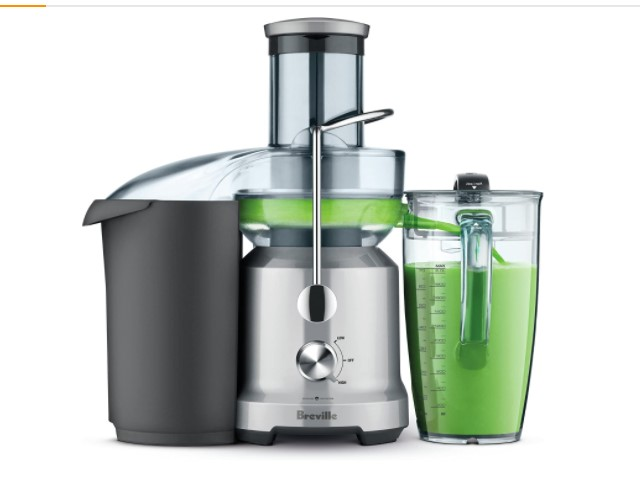 Breville BJE430SIL Juice Fountain Cold Centrifugal Juicer Breville BJE430SIL Juice Fountain Cold Centrifugal Juicer